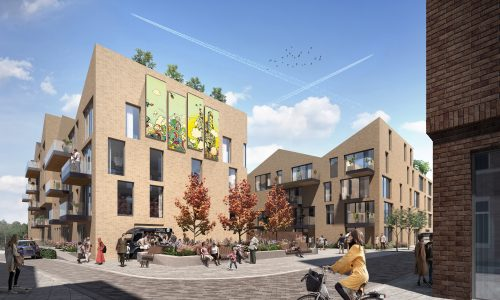 Artist Impression of Place First housing development