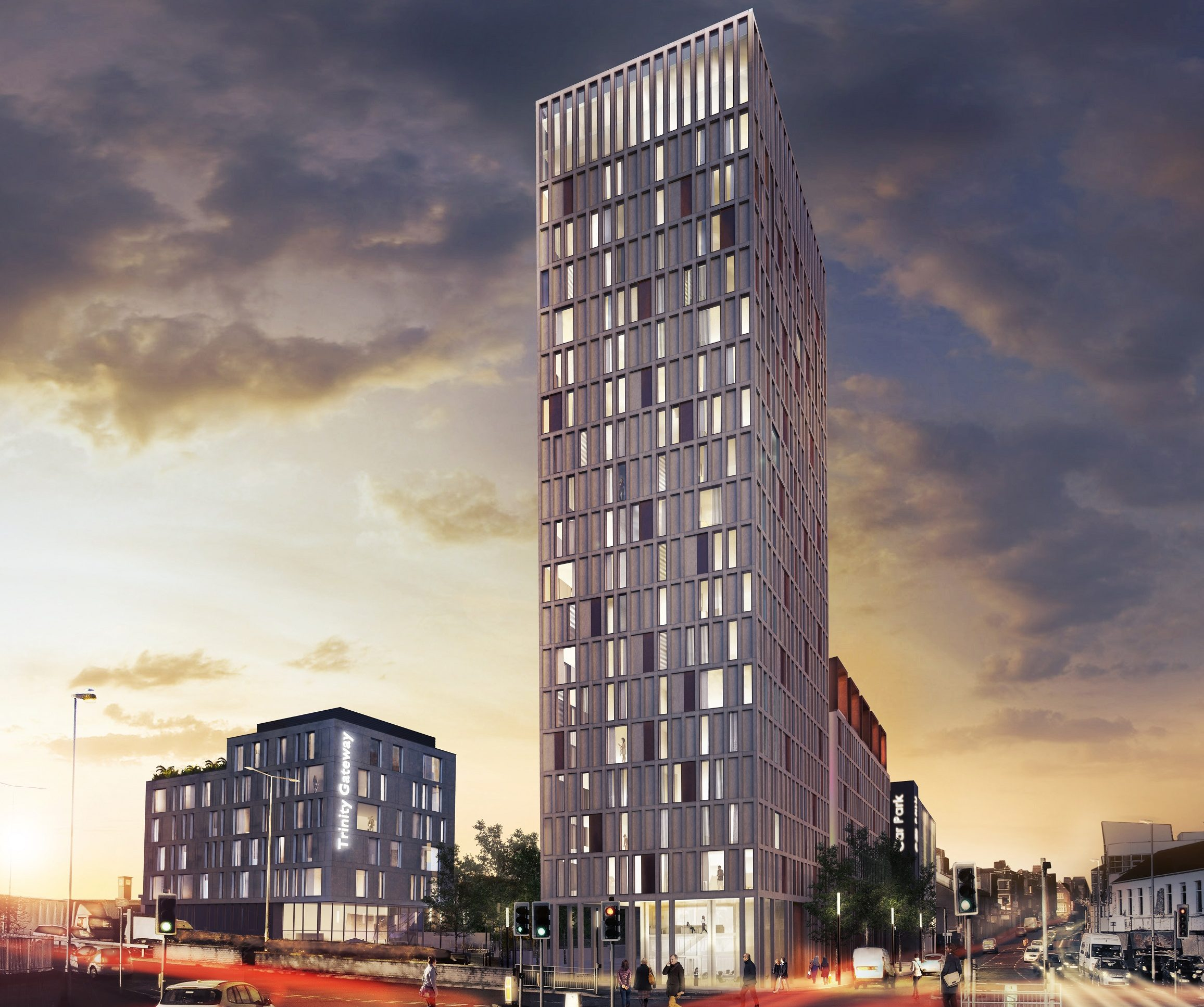 Artist Impression of Trinity Gateway Development