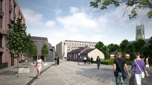 Artist Impression of how Church Wharf may look