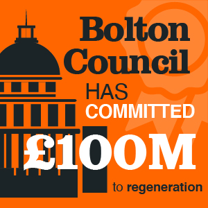 £100 million to regeneration